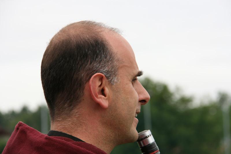 Don Giacomo al torneo del Sorriso